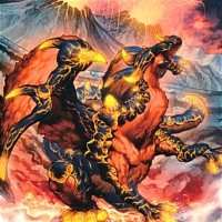Blaster Dragon Ruler of Infernos